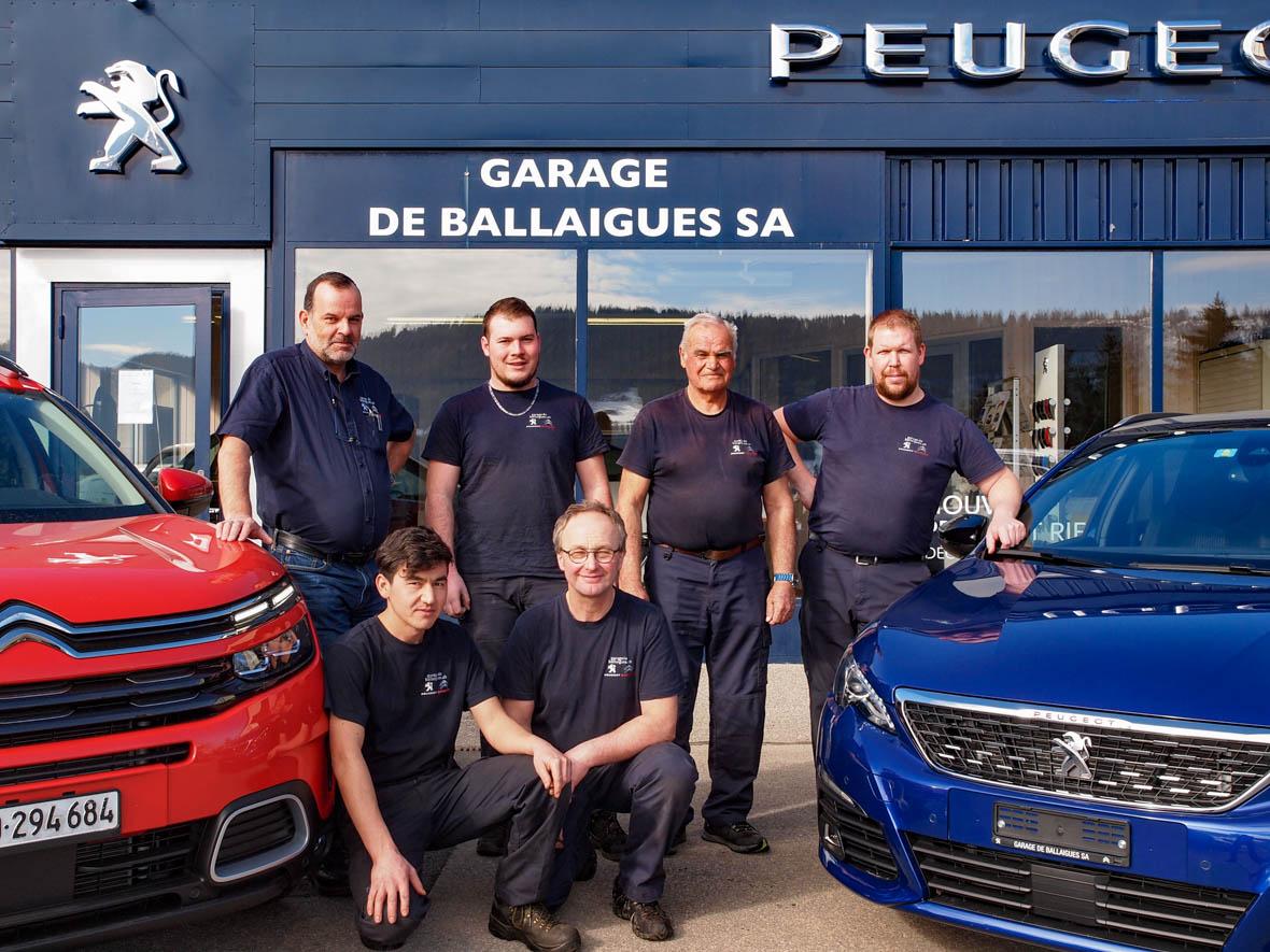 Equipe Garage de Ballaigues