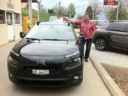 Première livraison de Citroën neuve à François Groux Auto-école